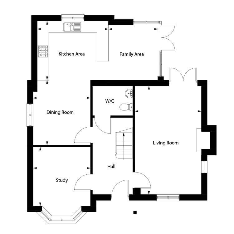 Blenheim Floor Plan Ground Floor