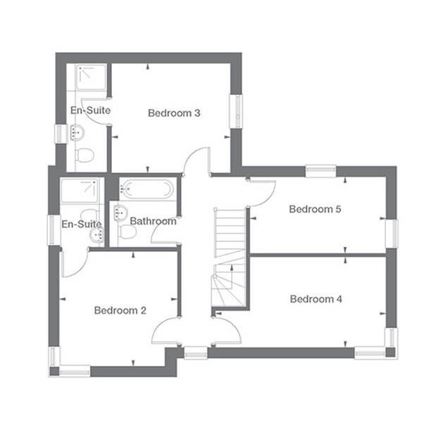 Buckingham Floor Plan First Floor