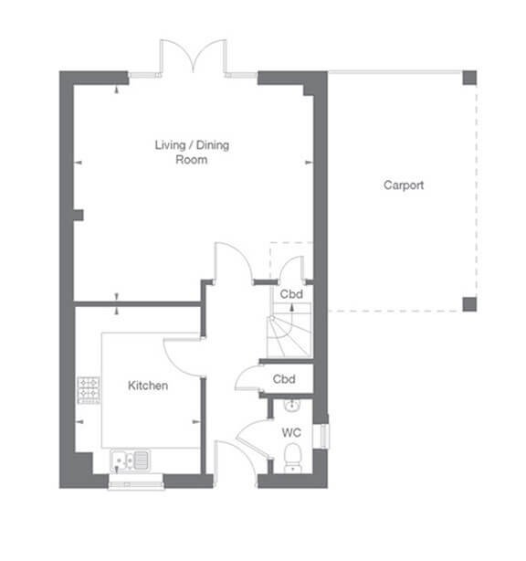 Darlington Floor Plan Ground Floor