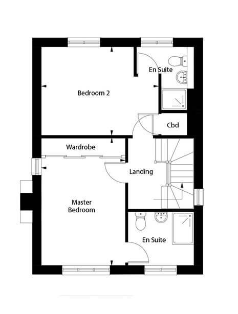 Fulmar Floor Plan First Floor