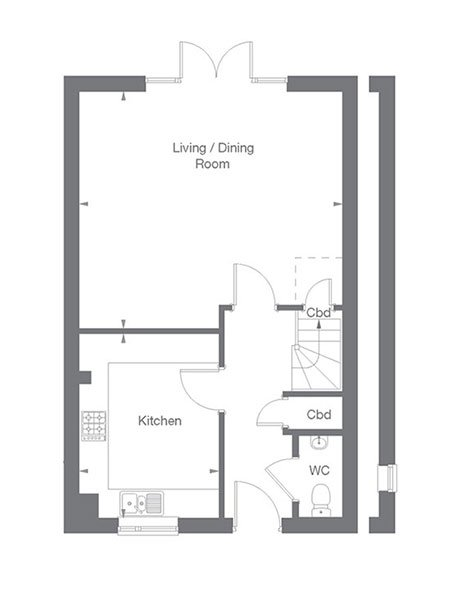 Grantham Floor Plan Ground Floor