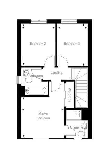 Hudson Floor Plan First Floor