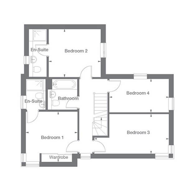 Osbourne Floor Plan First Floor