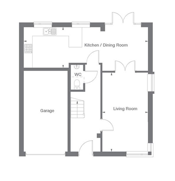 Sandringham Floor Plan Ground Floor