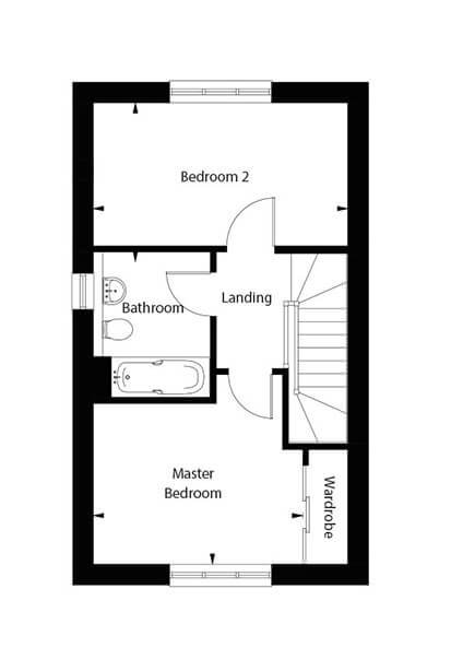 Warwick Floor Plan First Floor