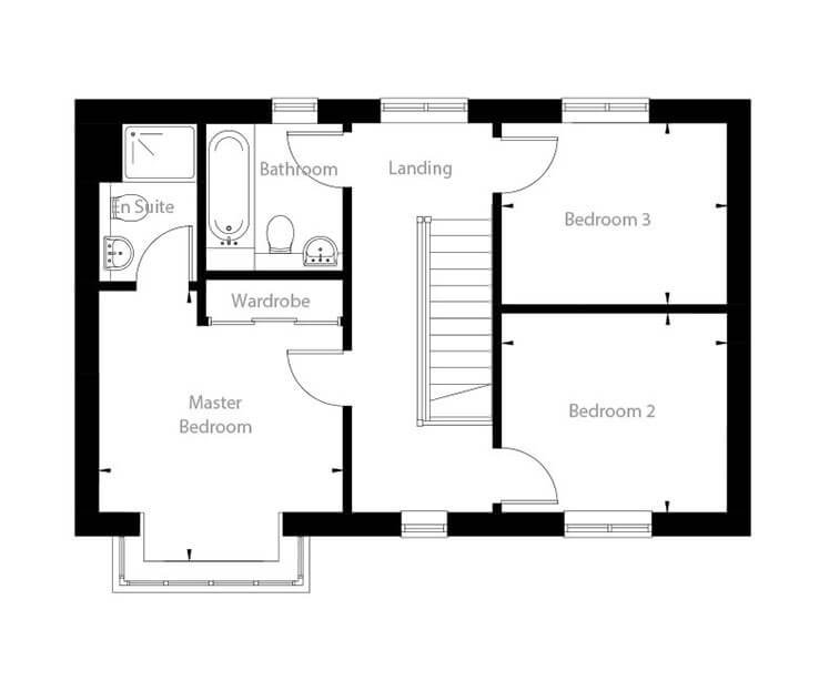 Whitworth Floor Plan First Floor