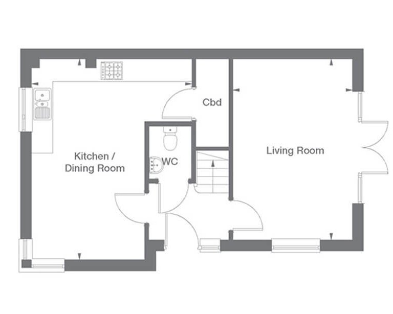 Windsor Floor Plan Ground Floor