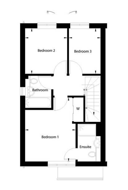 Betony Floor Plan First Floor