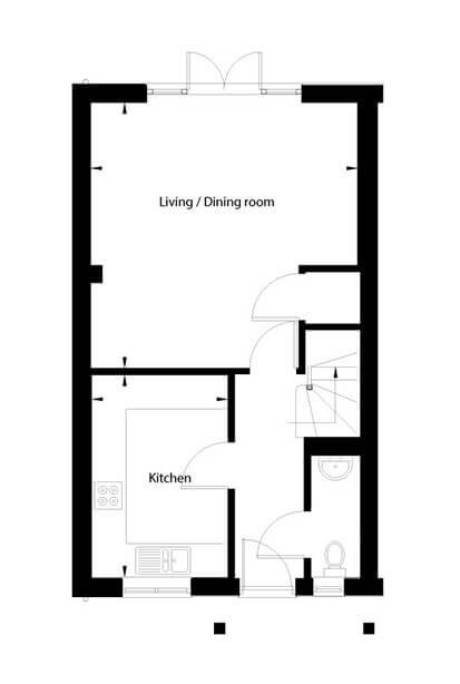 Betony Floor Plan Ground Floor