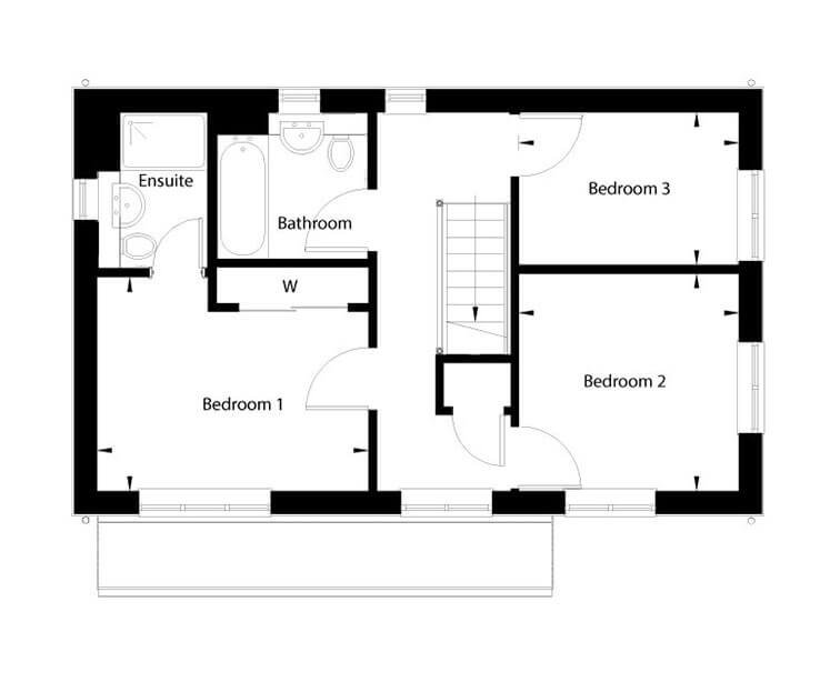 Bluebell Floor Plan First Floor