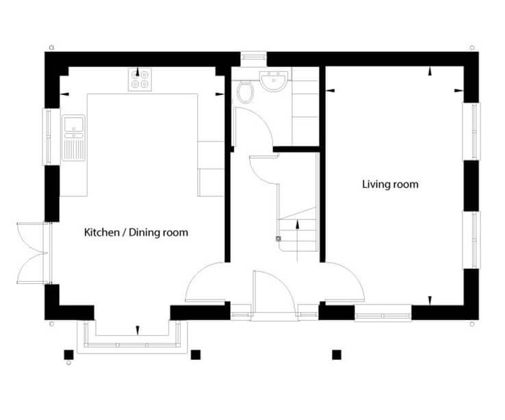 Bluebell Floor Plan Ground Floor