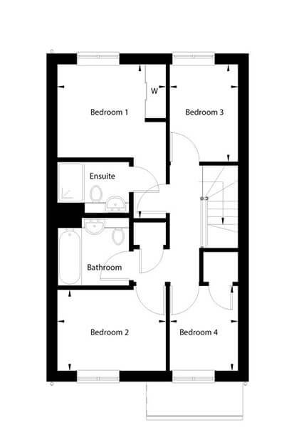 Campion Floor Plan First Floor