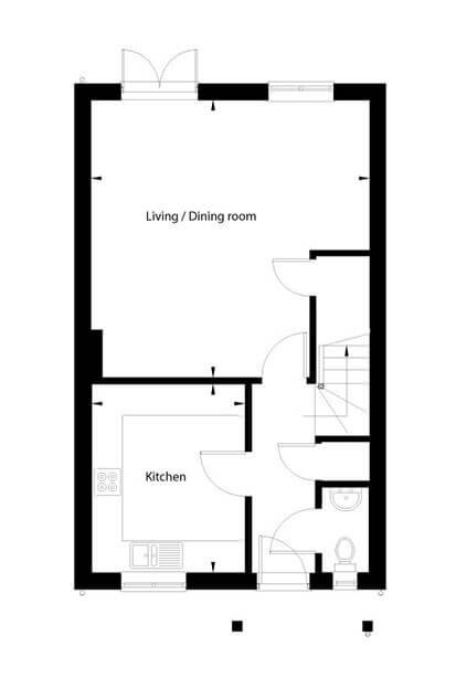 Campion Floor Plan Ground Floor
