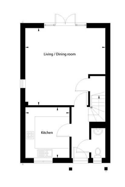 Clover Floor Plan Ground Floor