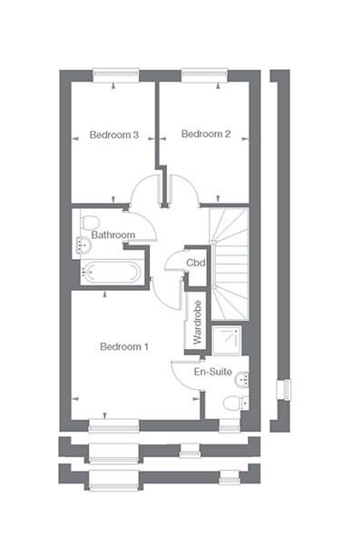 Highgrove Floor Plan First Floor
